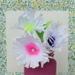 Die Papierblumen von Lea Hartmann (11) erhielten den Sonderpreis Kreativität.